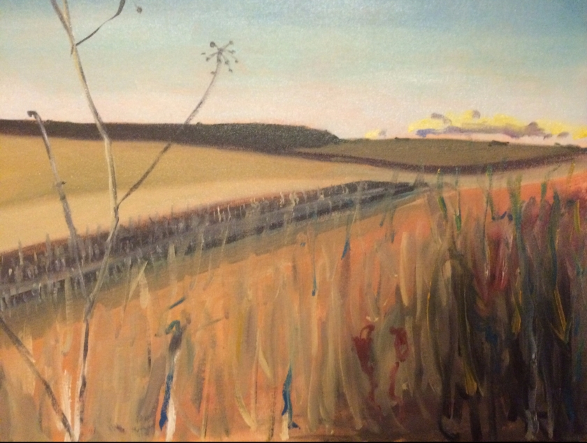 Summer Field, West Acre - Keith Tutt - 2017