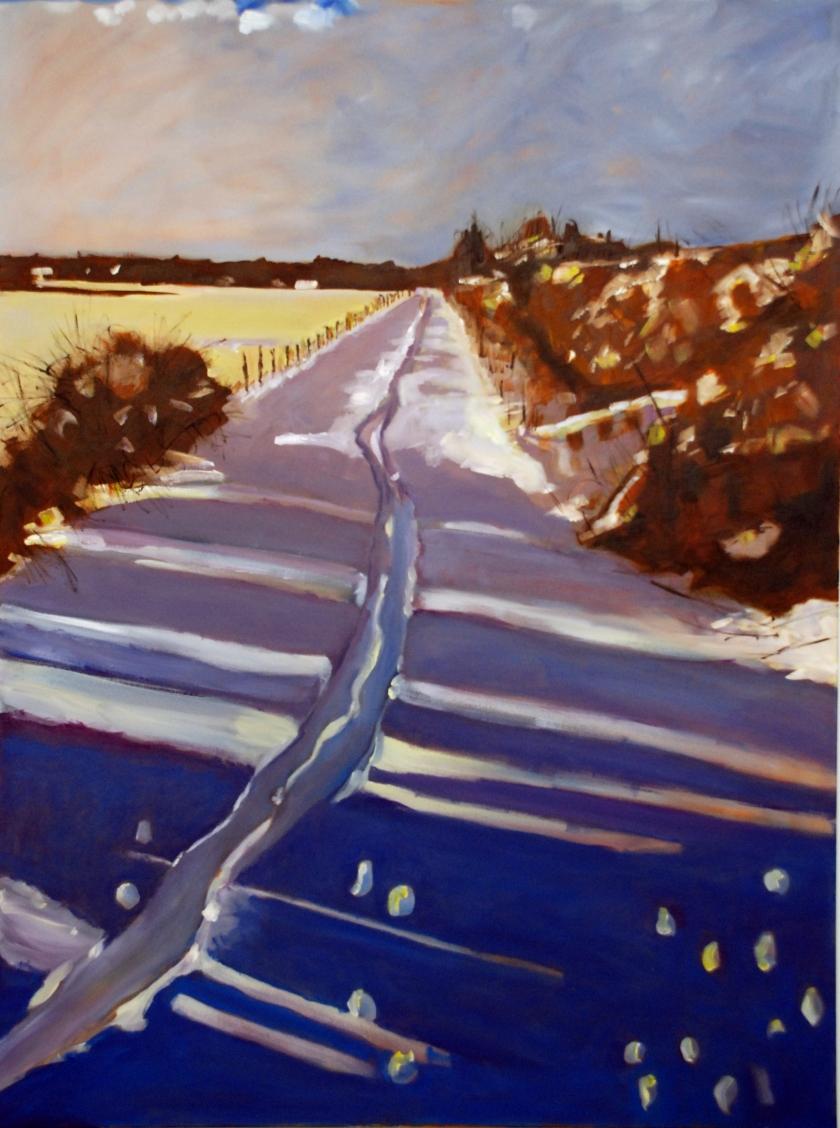 Hardingham Snow - Keith Tutt - (c) 2019